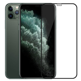 Schutzabdeckungen online-Ausgeglichenes Glas Full Coverage Abdeckung Curved Display Schutz Anti-Scratch-Film-Schutz für iPhone 12 Mini 11 Pro Max XS XR X 8 7 6 6S Plus-SE
