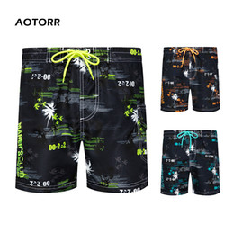 мужские шорты slim board  Скидка Men Summer Beach Swim Shorts 2020 Hot Mens Quick Dry Board Shorts Slim Fit Cool Homme Swimwear Men pantalones de playa hombre