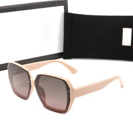 polaroid sonnenbrillen für antrieb Rabatt Qualitäts-Entwerfer-Frauen Sonnenbrillen Luxus Antike Sonnenbrille Mens Fashion Driving Polaroid Objektive Gläser Adumbral mit Box 5colors