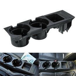 Bottiglia di moneta online-Holder 3Pcs Car Center Console Water Cup per Serie 3 Beverage Bottle Holder Coin vassoio E46 318I 320I 98-06 51.168.217,953 mila