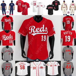 johnny banco Desconto Johnny Bench Jersey Pete Rose Barry Larkin Chris Sabo Deion Sanders Tony Perez Adam Dunn Eric Davis Frank Robinson Joe Morgan Ken Griffey Jr