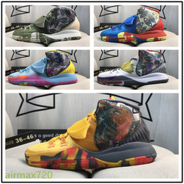 Kevin durante kd trey on-line-NKD12A Hot Sale TREY Durant ZOOM KD6 EP KD 6 Homens Boa Qualidade KD 6s Kevin Durant 6 tênis de basquete Formação Sneakers Size36-46