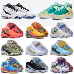 Homens kds sapatos on-line-Mens tênis de basquete Kevin Durant KD 13 KDS 13s Preto Azul Camo Soles Bred Homens Des Chaussures Outdoor Sports Trainers Sneakers Tamanho 40-46