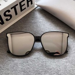 Gafas estrella coreana online-2020 gafas de sol de los hombres de Corea del clásico Gentle Monster Plaza de los vidrios de Sun Fashion Star versión masculina gafas de sol retras