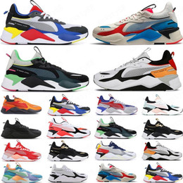 Espreitadelas on-line-Hot Rs-X Reinvenção Mens Sapatos Casuais Legal Preto Branco Fashion Creepers Dad High Quality Homens Mulheres Running Trainer Sports Sneakers 36-45