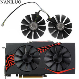 ventola della scheda asus Sconti 88MM T129215SU DC 12V 4Pin P106-100 GTX1060 GTX1070 dispositivo di raffreddamento per ASUS AREZ GeForce GTX 1060 1070 GAMING OC Graphics Card Video