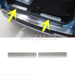 2021 peitoril da porta do land rover Para Land Rover Range Rover Evoque pára-choques traseiro de carga peitoril da porta placa do Scuff 2012-2018 2pcs