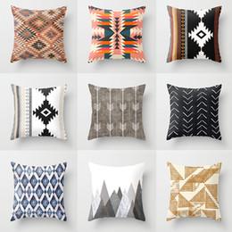 Shop Black White Print Throw Pillows UK