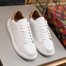 Sapatos novos hill on-line-Beverly Hills Sneaker Mens Fashion Shoes Sneakers Flats Plataformas New Arrival Footwears Shaspet Kuitixm Low Top Luxo Sapatos Masculinos Venda