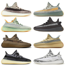 tênis leve Desconto Boost 350 v2 Kanye 2020 New 36-48 Men Running Shoes Zyon Israfil Cinder Linho Mulheres Desporto Ténis Asriel Yecheil Luz Traseira Zebra Outdoor Trainers SIZE 13