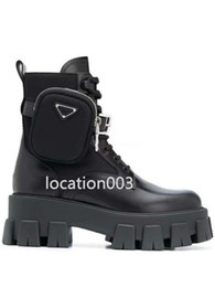 Hohe sohle motorradstiefel online-2020 high quality new women shoes increase trend Martin boots handbag decoration motorcycle ankle boots leather sexy boots rubber sole