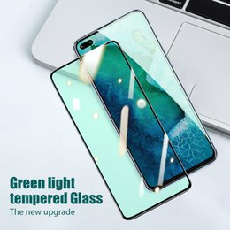 protection d'écran vert Promotion 2020 New Green Light UPGRADE Screen Protector Film Hydrogel pour iPhone 11 / 11Pro / Pro max 6 7 8 6S Plus X XS XR Max Film de protection