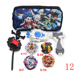 Beyblade metal fight launcher online-Tops Beyblade Burst Set Toys Beyblades Arena Bayblade Metal Fusion Fighting Gyro Launcher Top Bey Blade Blade Toys Boy LJ200921