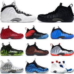 oktober schuhe Rabatt Nike Air Foamposite Pro  October All Star USA Paranorman Tech Fleece Hell purpurnen Sport Turnschuhe Größe 7-13