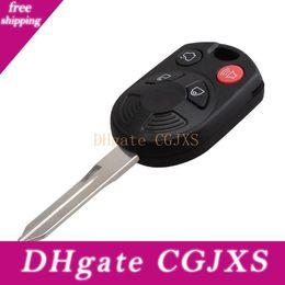 CWTWB1U345 Car 3 Button Uncut Remote Ignition Key For Ford 1999-2007