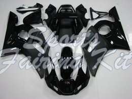 yamaha yzf r6 2001 nero Sconti Kit completo del corpo per YZFR6 1998-2002 carenature nero per YAMAHA YZFR6 98 99 carenature YZF600 R6 2002