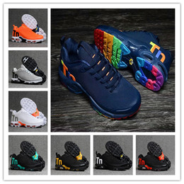 2021 chaussures de course hombre Top Quality Hommes Femmes Mercurial Tn Running Shoes Rainbow Colorful Homme Sneakers Chaussures Hombre Tn Sport Formateurs promotion chaussures de course hombre
