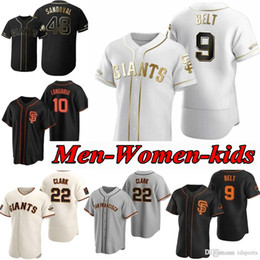 2021 giants maglia da baseball  San Francisco 2020 Giants Buster Buster Posey Baseball Jersey Brandon Crawford Kevin Pillar Yastrzemski Longoria Belt Jersey Men Donne Gioventù 05