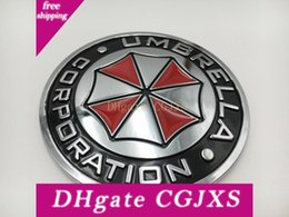 2020 regenschirm unternehmen Metal Umbrella Corporation Car Emblem Decal Badge Auto Body Sticker Motorcycle günstig regenschirm unternehmen