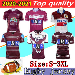 Maglia di aquila online-20 21 nuovi Manly Sea Eagles Jersey 19 20 21 in Australia NRL Rugby League camicia Manly Sea Eagles di rugby maglie Jersey Vest pantaloncini S-3XL