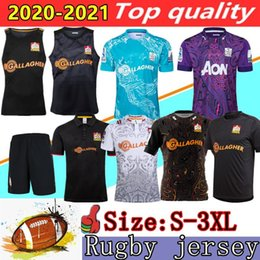 Tee rip on-line-Novo chefe 2020 Super Rugby Jerseys Home League Camisa 19 20 21 Rugby Jersey Zealand Chief Tee Tee Singlet Rugby Camisas