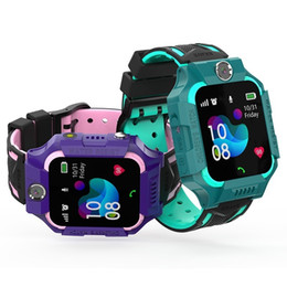 Smart watches for boys online-S19 impermeable Smart Kids LBS perseguidor SOS del niño de llamadas perdidas antis del bebé niños del reloj de los relojes de teléfono de las muchachas del muchacho