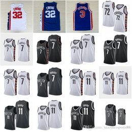 camiseta del baloncesto del amor  Rebajas Spread-Love 72 Biggie Basketball Jersey Julius 32 ERVING Drazen 3 Bed Petrovic Stuy 11 Irving Kevin 7 Durant City Shirt