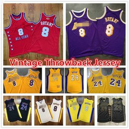 2020 l amarelo Mens Throwback Authentic Vintage roxo 8 Los Angeles