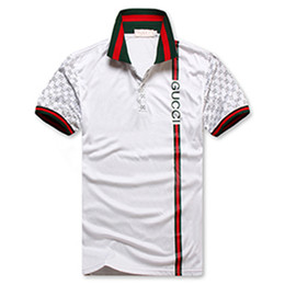 2020 impression cheval t-shirts gûccì Men T-Shirt Designer Polo Shirts High Street Embroidery small horse crocodile Printing Clothing Mens Brand Polo Shirt promotion impression cheval t-shirts