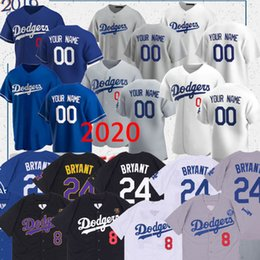 2020 atlanta braves Dodgers jersey Mookie Betts 50 35 Cody Bellinger 22 Clayton Kershaw 14 Enrique Hernandez 31 Joc Pederson costume baseball jerseys Tailândia atlanta braves barato