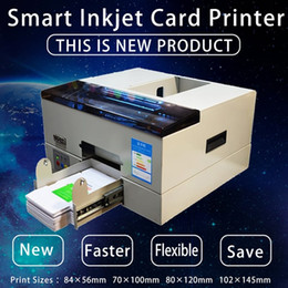 macchine per la stampa di carte Sconti Smart PVC Id Card Printer CD DVD stampatrice a getto d'inchiostro