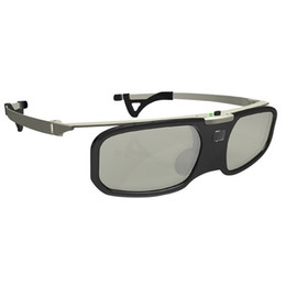 Sony 3d glasses on-line-Bluetooth clipe Shutter 3D Glasses + Miopia ativa para projetor Samsung Sony W807C LG TV 3D EPSON TW5200 / 5210/5300/5350/2030