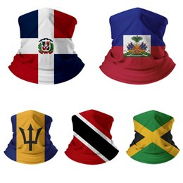 мексиканские американские флаги Скидка Outdoor Sports Mexican American USA National Flag Magic Scarf Protective Mask Fashion Cycling Caps Masks for Riding DHB1480