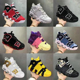 sapatos pippen Desconto Pinstripe 96 Olímpico Varsity Maroon Mais Homens Mulheres Basquetebol Sapatos Bruce Lee Laser Crimson Scottie Pippen Uptempo Speakers Sneakers Tamanho 13