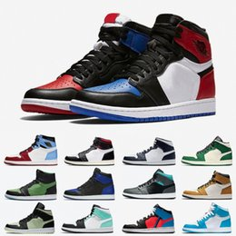 2020 or bas chausse de basket-ball Top 3 High Low Hommes Chaussures de basket-ball d'or Cactus Green Island Jack Obsidian Banned Toe Bred Hommes Femmes Sport Chaussures de 5,5 à 13 promotion or bas chausse de basket-ball