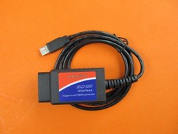 Cabo de interface usb obd2 on-line-usb ELM327 v 1.5 de alta qualidade a partir de china OBD II CAN-BUS Automotive OBD2 Ferramenta de verificação de cabo de interface obd2 elm 327 usb scanner de VTdU #