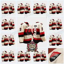 2021 maglia classica ottawa Bobby Ryan Ottawa Senators Alec Connell Chris Phillips Brady Tkachuk Anthony Duclair Colin White 2014 Heritage Classic Jersey