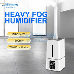 110V 220V 13L Ultrasonic Humidifier Industrial Air Humidifier Atomization Disinfection Machine Sprayer For Supermarkets Office Dr8T#