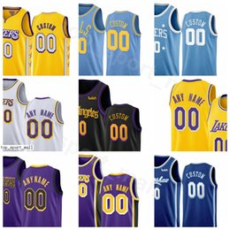 Schermo di stampa online-Schermo Stampa Pallacanestro DeMarcus Cousins ​​maglie JaVale McGee Kentavious Caldwell-Pope Rajon Rondo Quinn Cook Città Finito Earned Edition