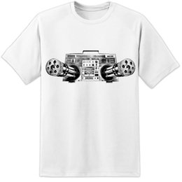Rave-filme online-Stereo Tod Retro Prodigy Ban Ksy Art Shirt-Qualitäts-Druck Festival Rave 2019 Hohe Baumwollbeiläufiges Film-T-Shirt