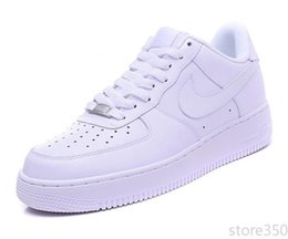 Una pantofola online-nike air force 1 Flyknit Utility Moda Uomo Scarpe Low One 1 Uomini Donne Cina all'aperto scarpe Fly Royaums piattaforma stella pantofola sandali maglia Femme Homme 36-45 D5