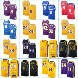 Maglia nera 23 online-Los Angeles
