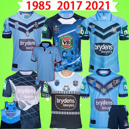 Camisas originais on-line-1985 2017 2021 Horton Rugby Jerseys Blue New South Wales Rugby League Retro Vintage Vintage Holden Nswrl Origens Holton T Shirt Nswrl Hokden