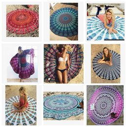drapeau indien Promotion Indian Mandala Beach Serviette Hip Hop Tapisserie Skull Drapeau national National Impression Eleefant Scured Plage Couverture 39 Designs Facultatif LDH168