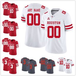 2021 ed mujeres Houston Cougars College Football 7 Funda Keenum Custom Anillo Cualquier Nombre Mens Mujeres Jóvenes Stitched Jerseys 11 Andre Ware 10 Ed Oliver