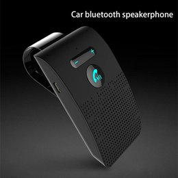 2021 corredo dell'automobile del vivavoce del bluetooth senza fili del bluetooth Nuovo Wireless Bluetooth V4.2 Kit vivavoce Bluetooth per auto Vivavoce visiera di Sun clip Speakerphone Kit Vivavoce Bluetooth