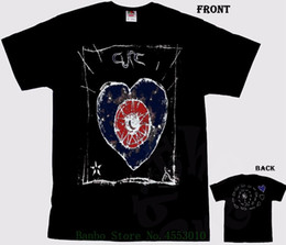 Британские футболки онлайн-The Cure - Friday I'm In Love - British Rock Band T _ Shirt Sizes S To 6xl Men Cool Tees Tops