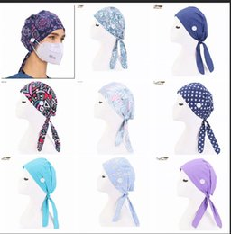 хлопок durag  Скидка Summer Cotton Paisley durag with button Skull Cap Cotton Biker Motorcycle Bandana Head Wrap Du Doo Do Rag Rags hair accessories