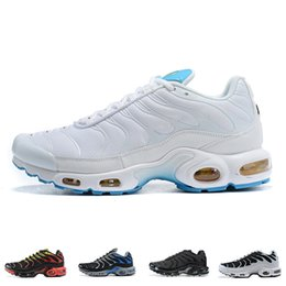 klassiker turnschuhe  Rabatt Mens Nike Air Max Tn Plus-Laufschuhe SE Ultra High Quality White Blue Air Designer-Turnschuhe Retro Tns klassische Outdoor-Trainer Größe 40-46