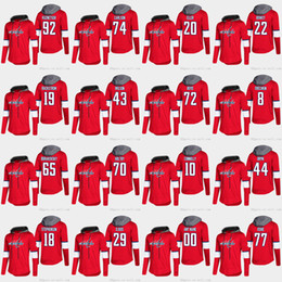 Tom t shirt online-Alex Ovechkin Washington Capitals Braden Holtby T.j. Oshie Nicklas Backstrom Tom Wilson Andre Burakovsky Langarm T-Shirt Hoodies Jersey